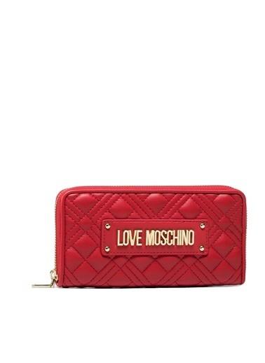 Love Moschino   Marka Logolu Kapitoneli Cüzdan Kadın Cüzdan Jc5600Pp1Cla0500 Kırmızı